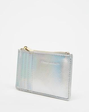 Estella Bartlett Positive Vibes Rectangle Card Purse - Wallets (Iridescent)