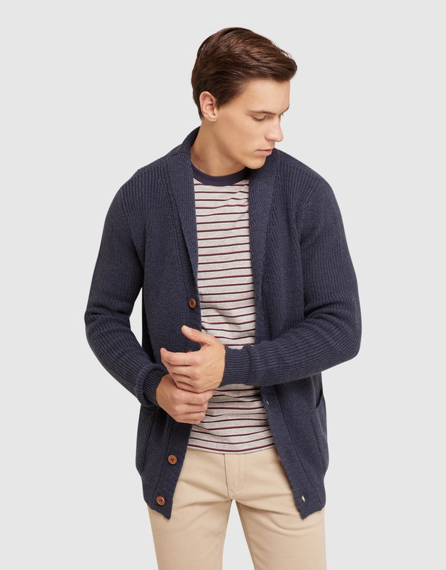 Oxford - Tommy Wool Blend Cardigan