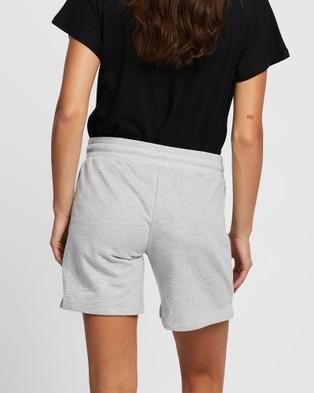 Angel Maternity Maternity Lounge Jersey Shorts - Sleepwear & Loungewear (Marl Grey)