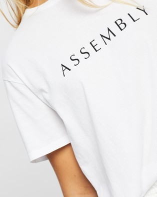 Assembly Label Clara Tee - T-Shirts & Singlets (White)