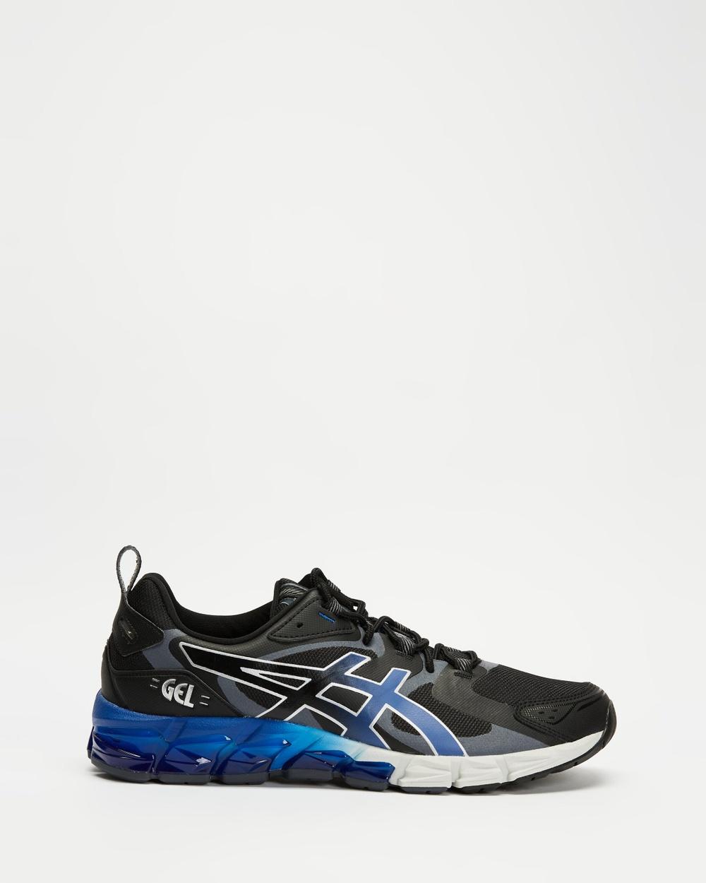 ASICS GEL Quantum 180 6 Men's Performance Shoes Black & Monaco Blue GEL-Quantum Australia