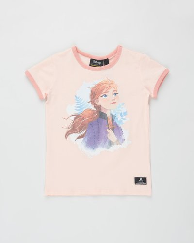 ICONIC EXCLUSIVE - Frozen Destiny SS Ringer Tee - Kids