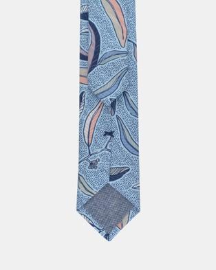 Peggy and Finn - Eucalyptus Tie - Ties (Blue) Eucalyptus Tie