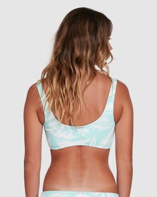 Billabong Haze Crop Bikini Top - Bikini Tops (ARUBA BLUE)