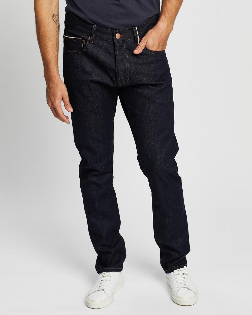 3 Wise Men Selvedge Denim Jeans Slim Dark Blue