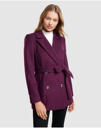 Forever New - Nina Wrap Coat
