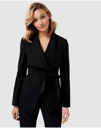Forever New Petite - Lesley Petite Waterfall Blazer