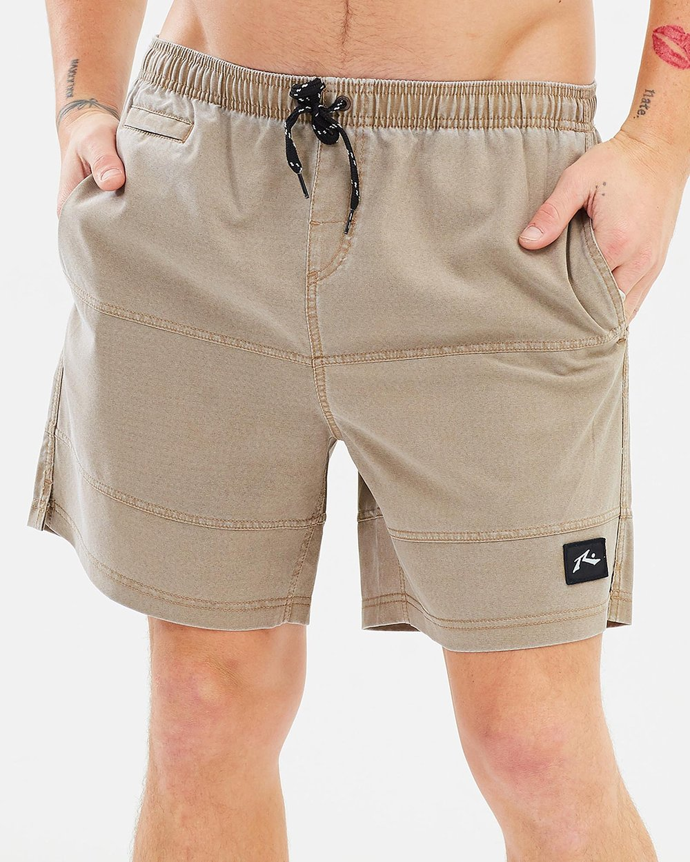 18f85d5116 Jiggy Jigs Elastic Boardshorts by Rusty Online | THE ICONIC | Australia