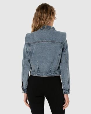 Madison The Label - Arianna Denim Jacket - Denim jacket (Denim) Arianna Denim Jacket
