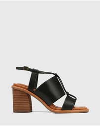 Wittner - Clarion Leather Block Heel Sandals