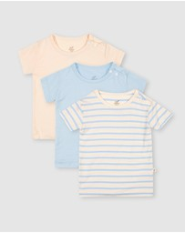 Boody Organic Bamboo Eco Wear - 3-Pack Baby T-Shirts
