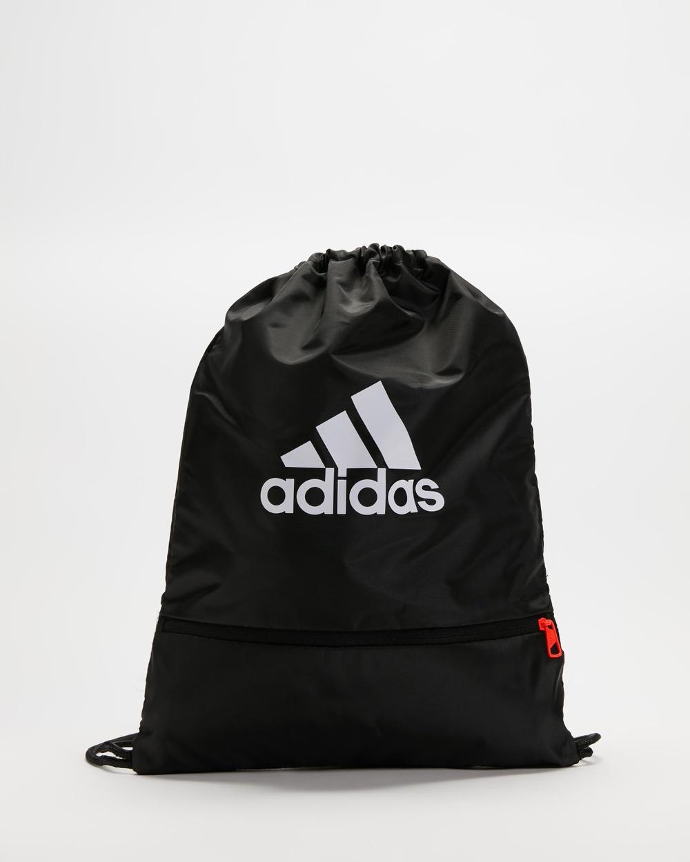 adidas Performance Gymsack Backpacks Black & White