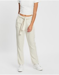DRICOPER DENIM - Tailored Linen Pants