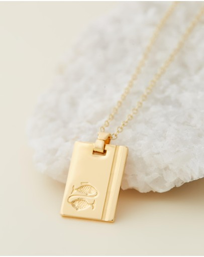 Reliquia Jewellery - Pisces Star Sign Necklace