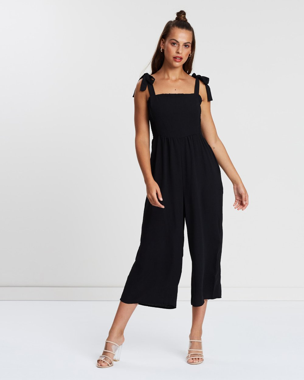 63f3dfca997e Woven Alexa Strappy Jumpsuit by Cotton On Online