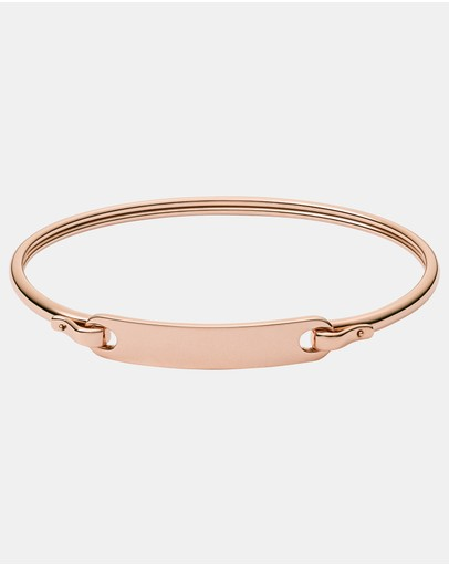 Fossil - Fashion Rose Gold-Tone Bracelet