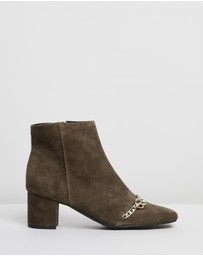 Atmos&Here - Isabelle Leather Ankle Boots