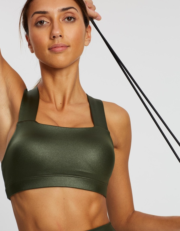 Running Bare - Perfect Form Push Up Crop