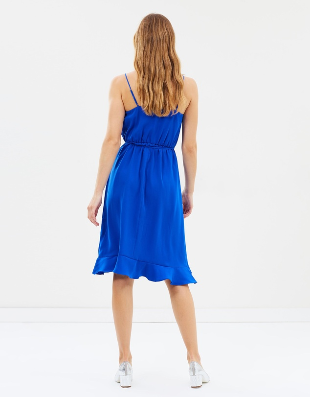 f74f500459f Drapey Ruffle Faux-Wrap Dress by J.Crew Online