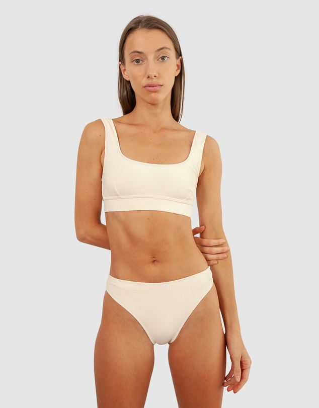 BAYTHE - Ribbed Movement Swim Crop