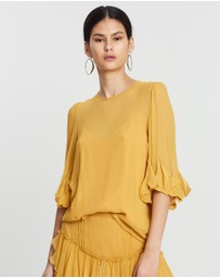 See By Chloé - Feminine Silk Crepon Top