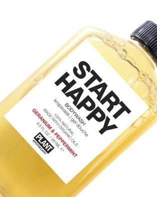 Plant Apothecary Start Happy   Body Wash - Beauty (Yellow)