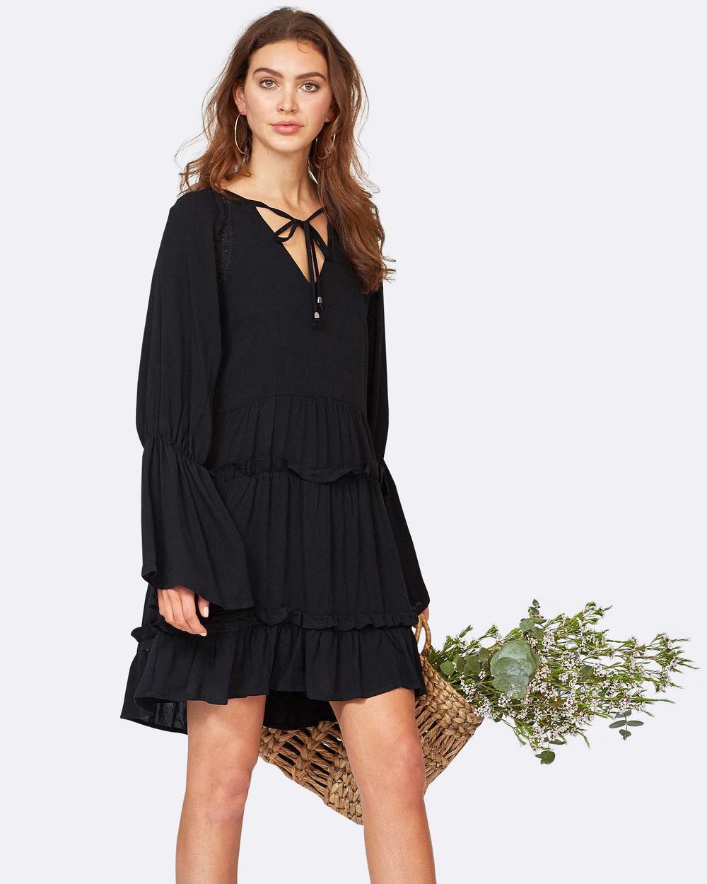 Three of Something Elisa Dress Dresses Black Elisa Dress