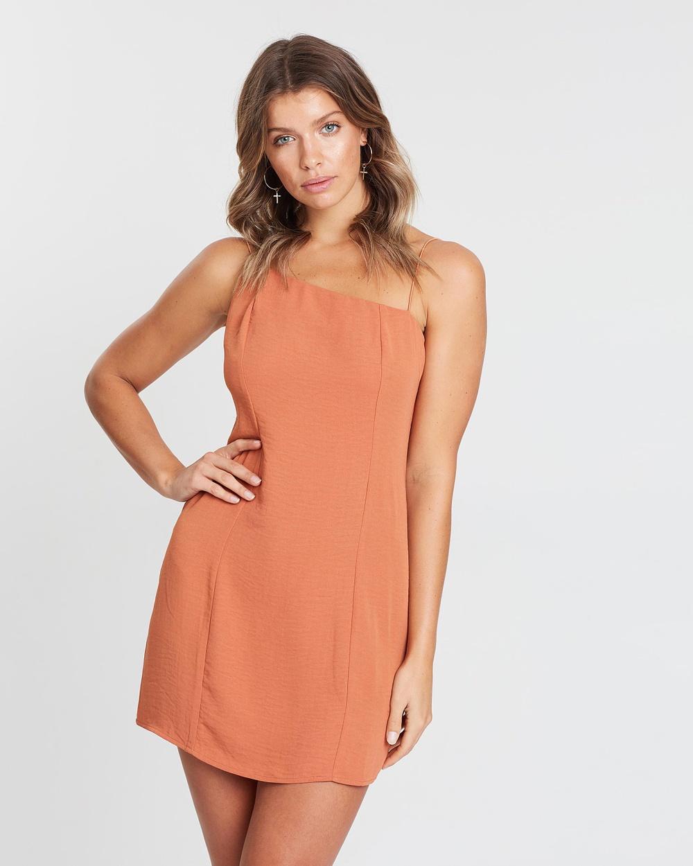 Toby Heart Ginger Burnt Orange Simply Sweet Dress