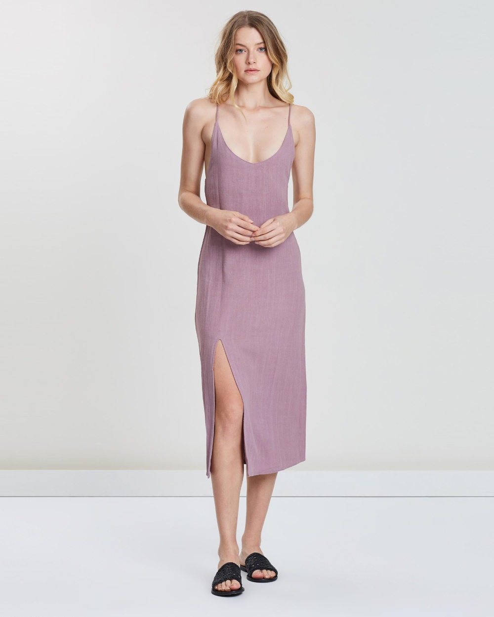 The Bare Road Lavender Nice Dress