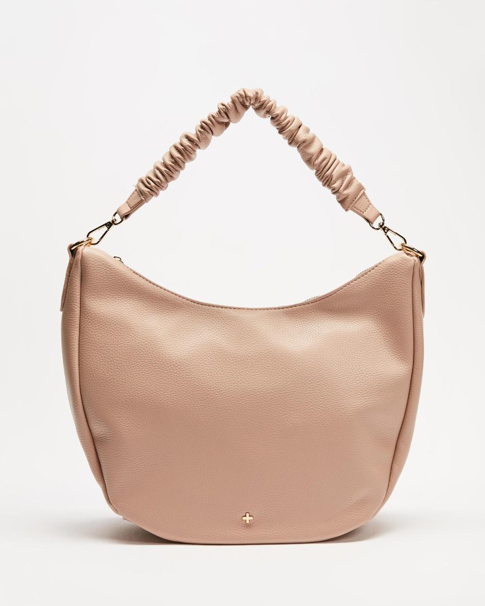 PETA AND JAIN Olive Handbags Nude