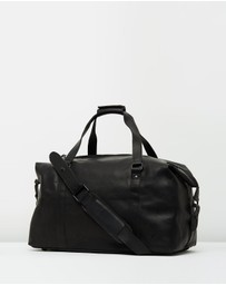 Lyle and Scott - Leather Holdall