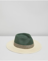 Scotch & Soda - Gradient Raffia Hat