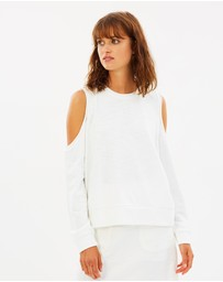 Nude Lucy - Bryant Off-Shoulder Sweatshirt