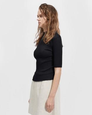 bul Tidal Top - Short Sleeve T-Shirts (Black)