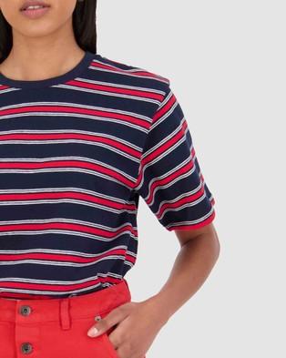Huffer Grammer Stella Tee - T-Shirts & Singlets (Multi)