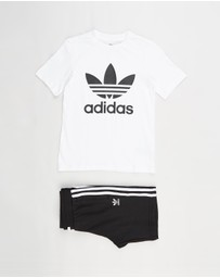 adidas Originals - Adicolor Tee and Shorts Set - Kids