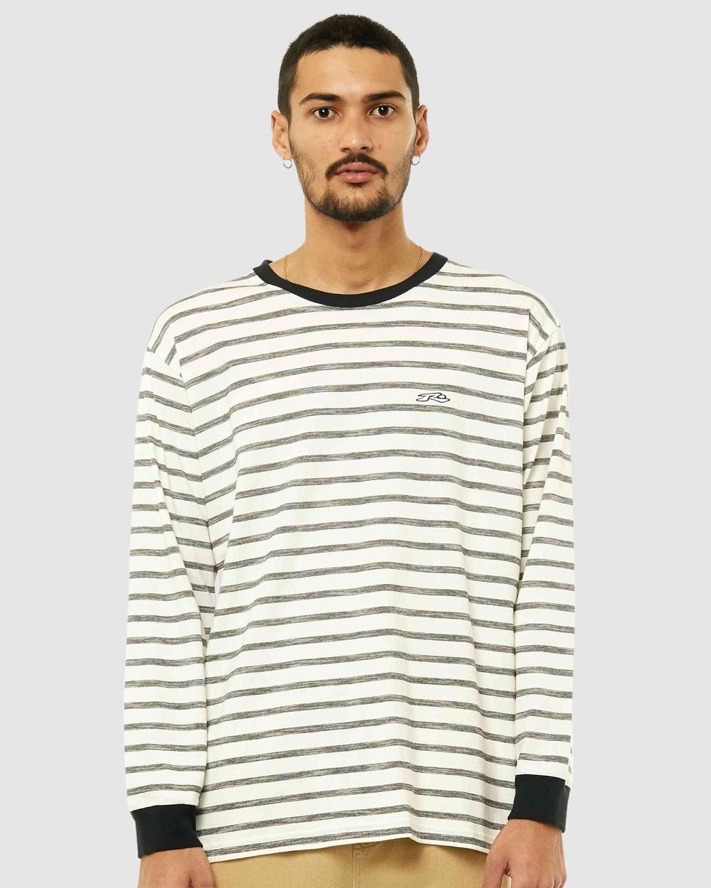 Rusty - Frenzy Long Sleeve Tee - Long Sleeve T-Shirts (WHT) Frenzy Long Sleeve Tee
