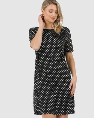 Lincoln St The Boxy Dress - Dresses (Spots)