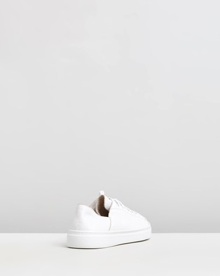 Mollini Oskher Leather Sneakers - Sneakers (White)