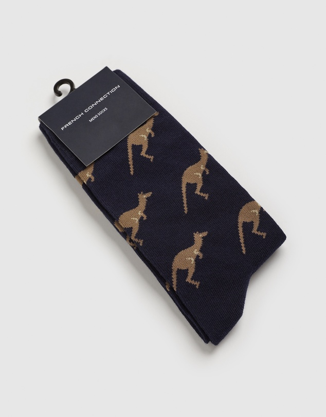Men Kangaroo 1 Pk Socks