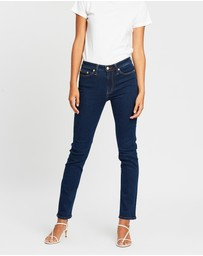 Elvie & Leo - The Boyfriend Straight Super Stretch Selvage Jeans