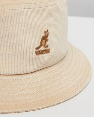 Kangol Cord Bucket Hat - Hats (Beige)