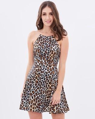 Wheels & Dollbaby – Satin Sea Of Love Dress – Dresses (Multi)