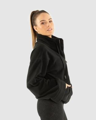 B.O.D by Rachael Finch Sierra Polar Fleece - Sweats (Black)