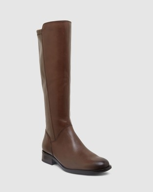 Easy Steps - Alastair Knee-High Boots (BROWN)
