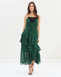 Cooper St - Lucille Tie Midi Dress