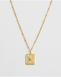 Kirstin Ash - True North Coin Necklace
