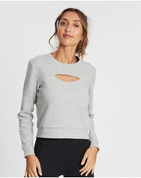 adidas Performance - 3-Stripes Performance Sweatshirt - Women's