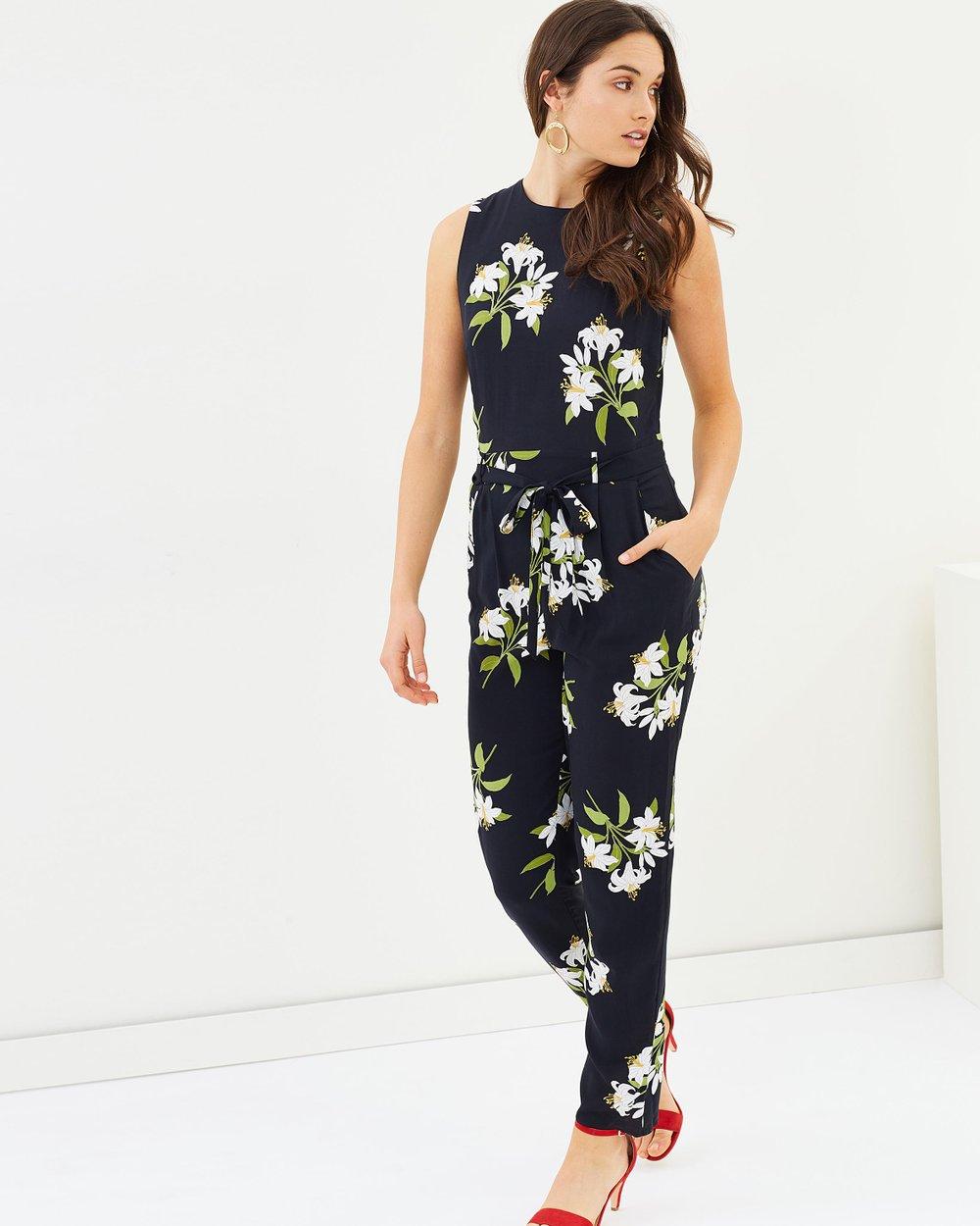766d636d34 Lily Bouquet Jumpsuit by Wallis Online