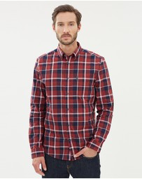 Ben Sherman - Entry LS Poplin Check Shirt